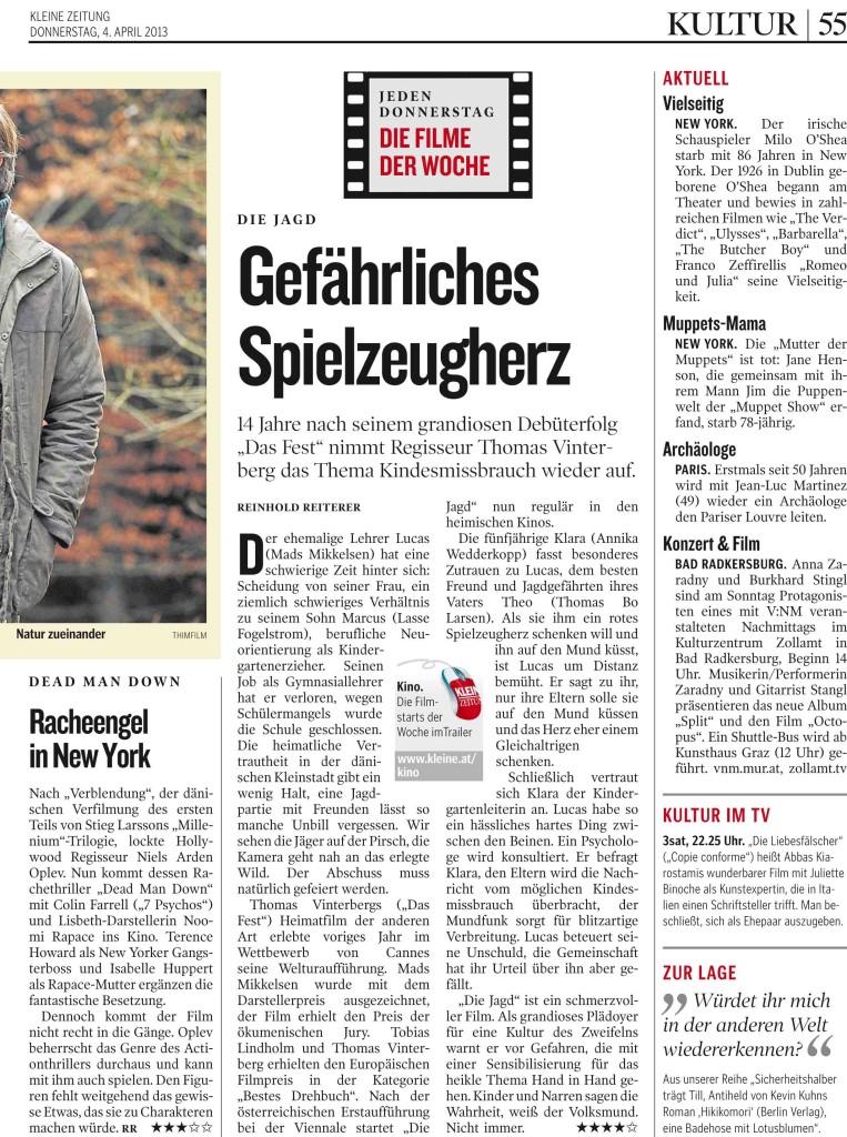 01 KLEINEZEITUNG GRAZ 20130404 Prod-Nr 178801   Seite 54     3.